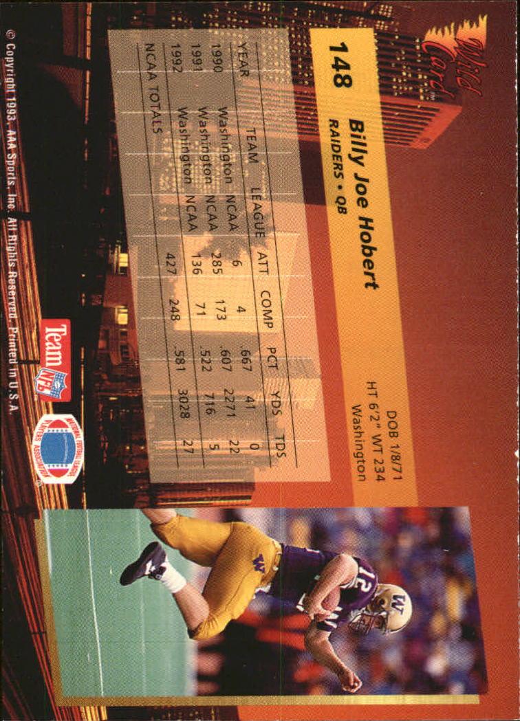 1993-Wild-Card-Superchrome-Football-Card-Pick-103-260 thumbnail 87