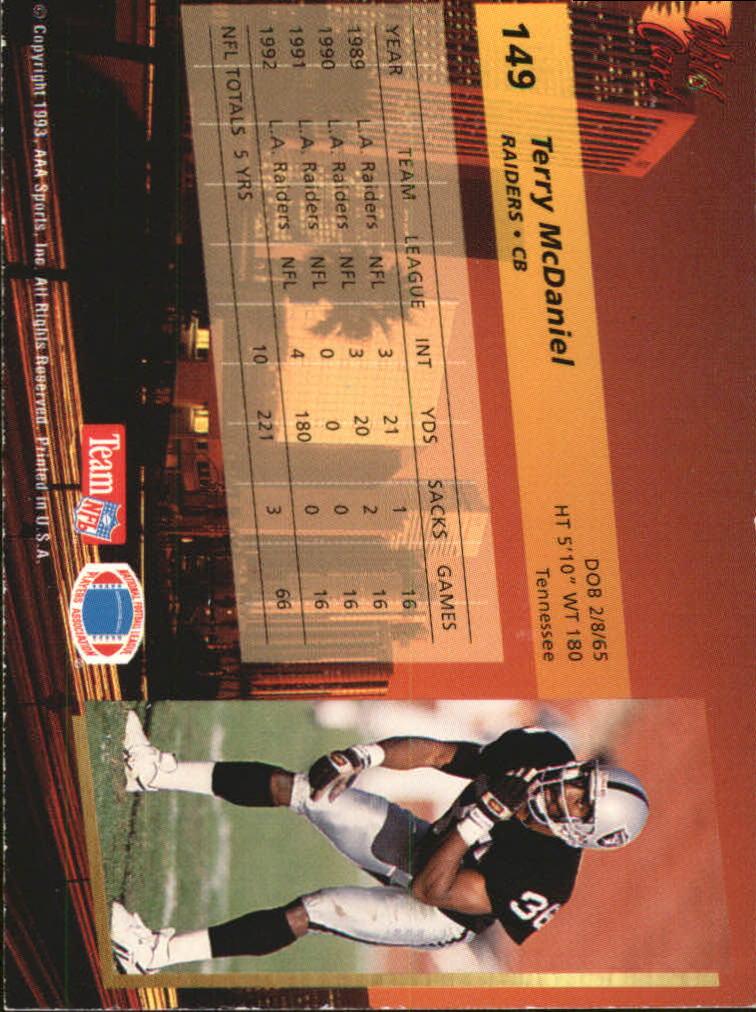 1993-Wild-Card-Superchrome-Football-Card-Pick-103-260 thumbnail 89