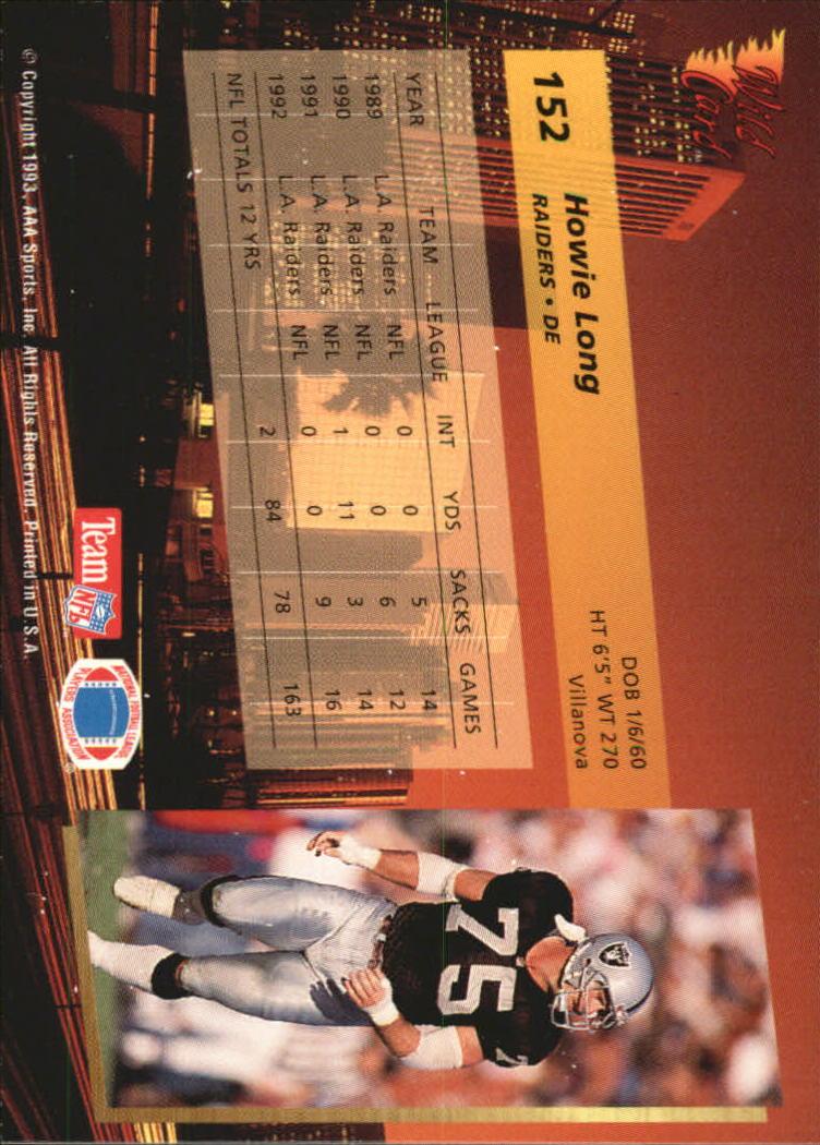 1993-Wild-Card-Superchrome-Football-Card-Pick-103-260 thumbnail 95