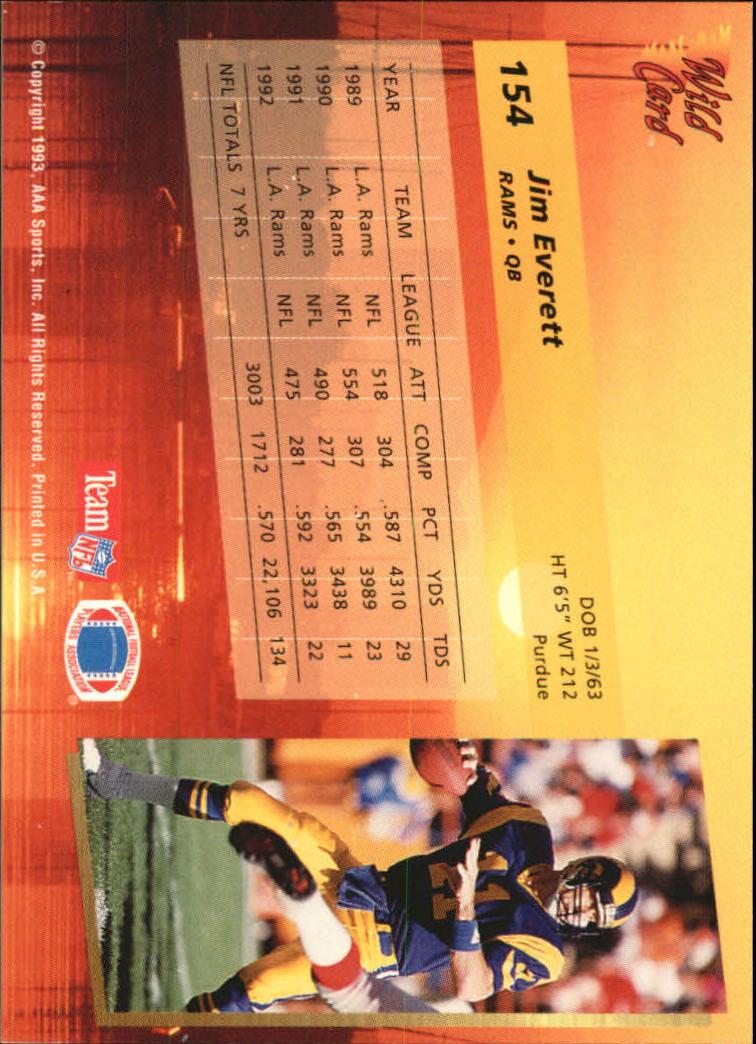 1993-Wild-Card-Superchrome-Football-Card-Pick-103-260 thumbnail 97