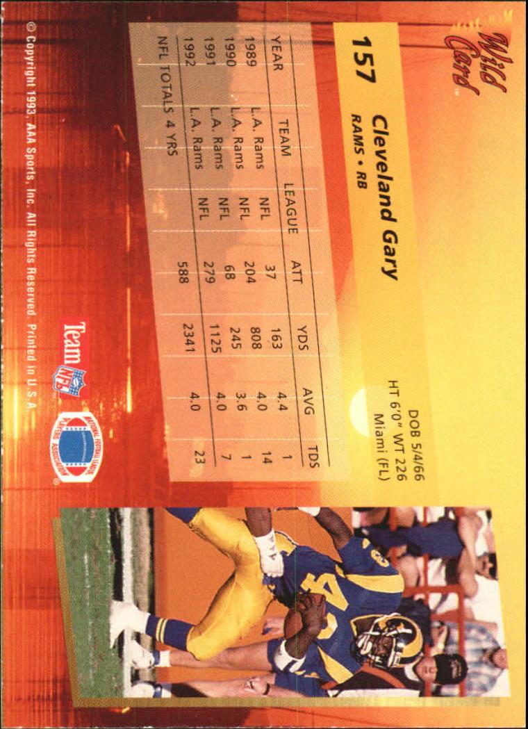 1993-Wild-Card-Superchrome-Football-Card-Pick-103-260 thumbnail 103