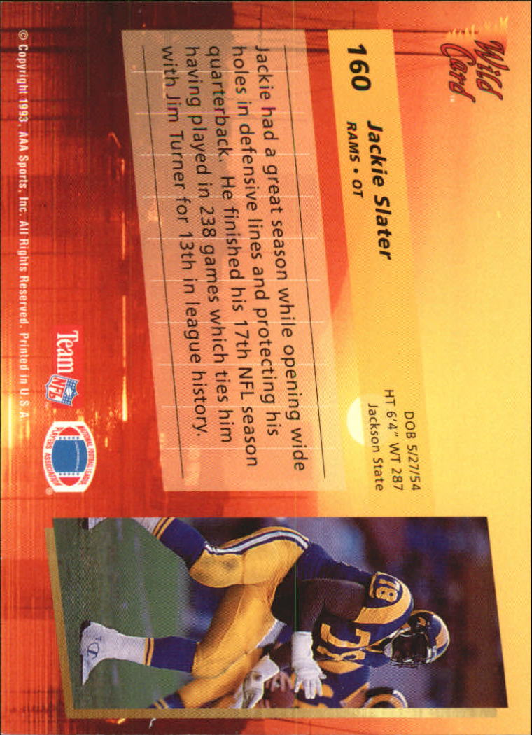 1993-Wild-Card-Superchrome-Football-Card-Pick-103-260 thumbnail 109