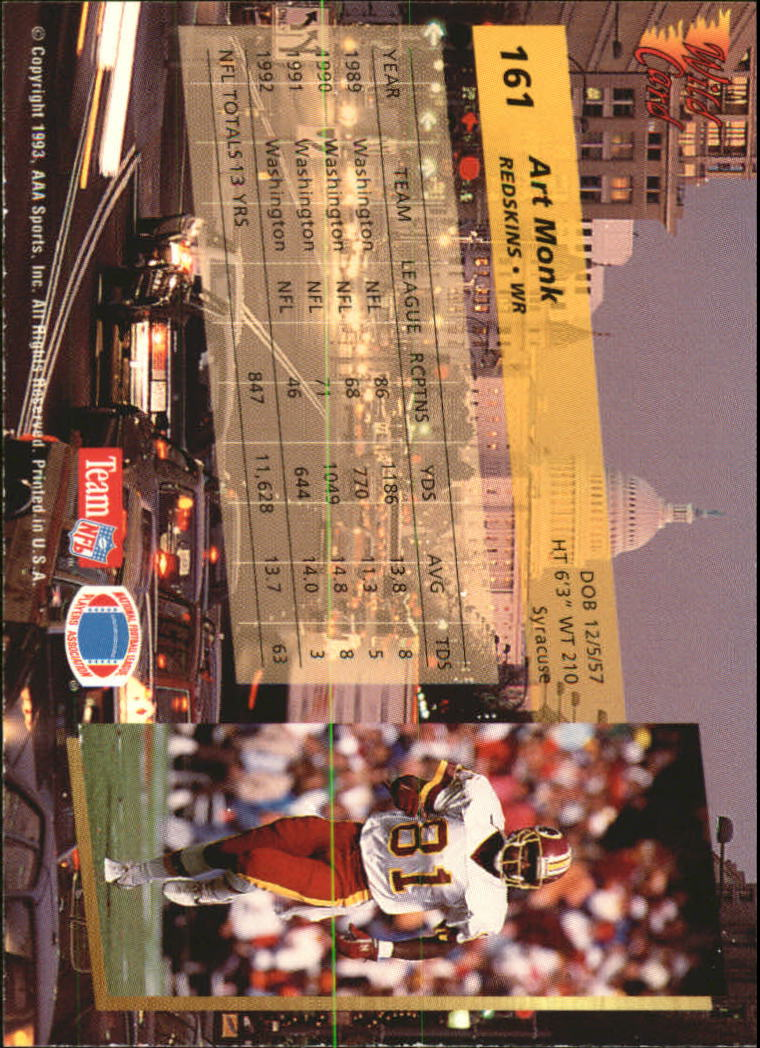 1993-Wild-Card-Superchrome-Football-Card-Pick-103-260 thumbnail 111