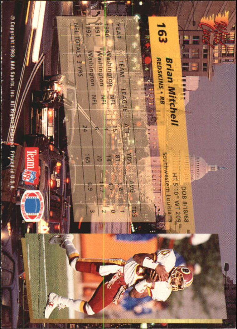 1993-Wild-Card-Superchrome-Football-Card-Pick-103-260 thumbnail 115