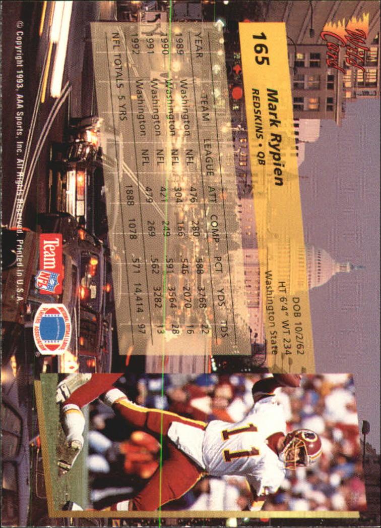 1993-Wild-Card-Superchrome-Football-Card-Pick-103-260 thumbnail 119