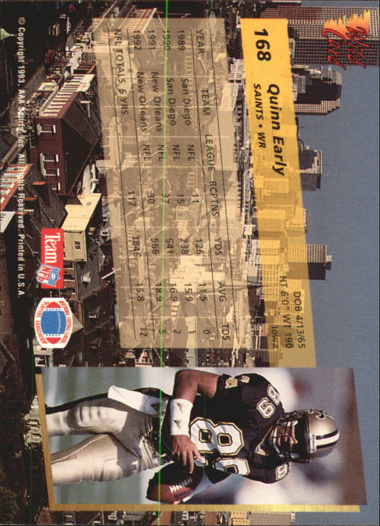 1993-Wild-Card-Superchrome-Football-Card-Pick-103-260 thumbnail 125