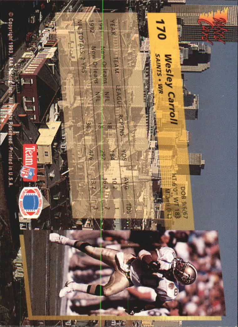 1993-Wild-Card-Superchrome-Football-Card-Pick-103-260 thumbnail 129