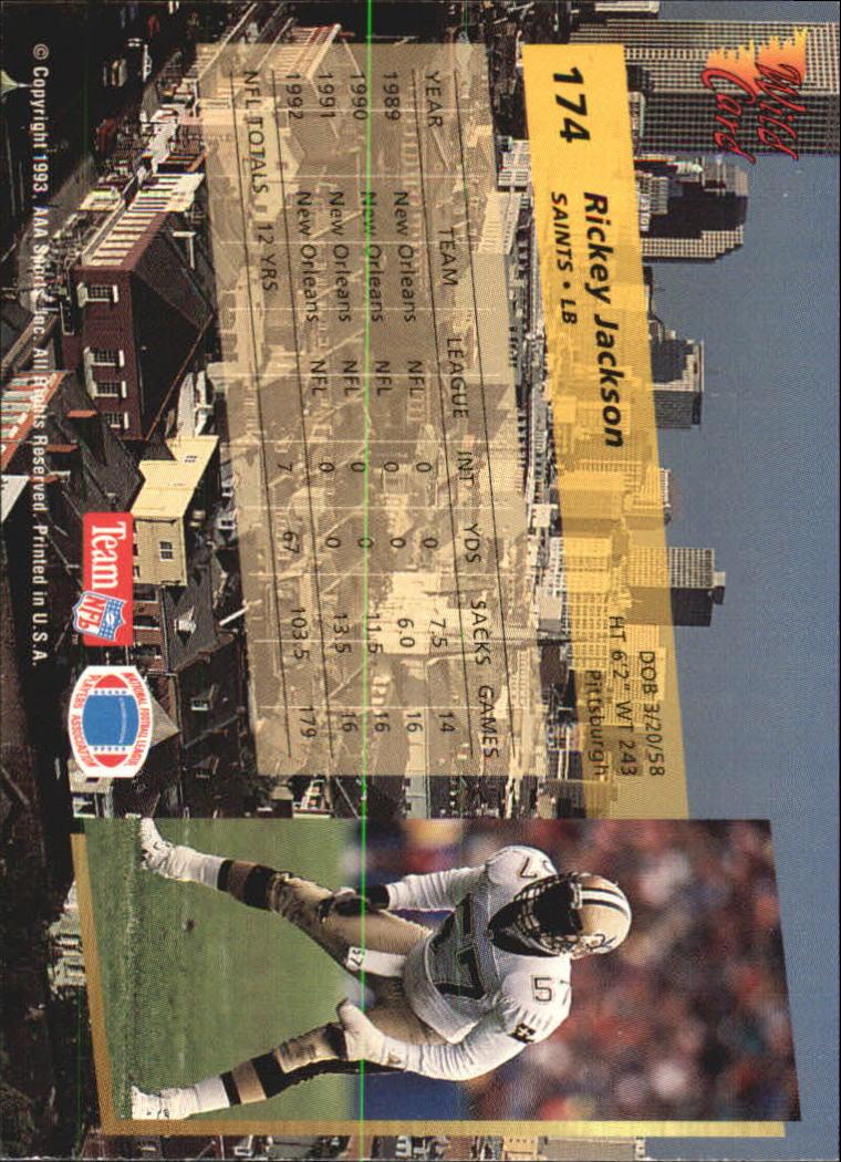 1993-Wild-Card-Superchrome-Football-Card-Pick-103-260 thumbnail 137