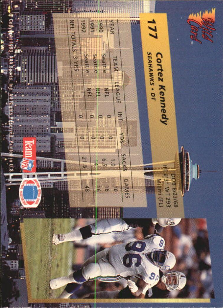 1993-Wild-Card-Superchrome-Football-Card-Pick-103-260 thumbnail 143