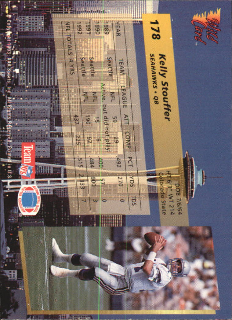 1993-Wild-Card-Superchrome-Football-Card-Pick-103-260 thumbnail 145