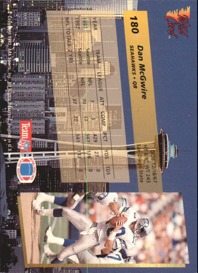 1993-Wild-Card-Superchrome-Football-Card-Pick-103-260 thumbnail 149