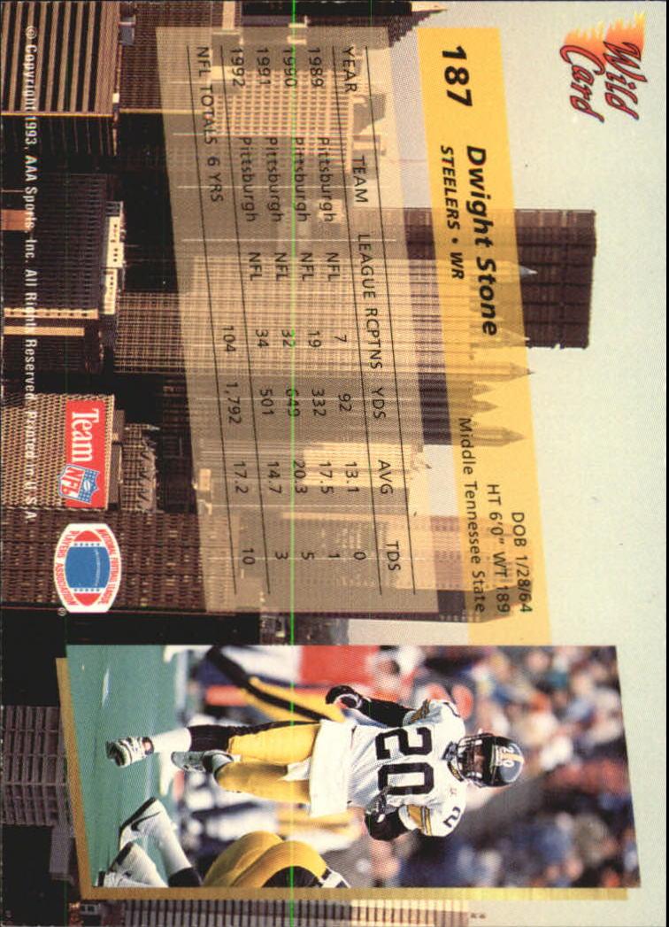 1993-Wild-Card-Superchrome-Football-Card-Pick-103-260 thumbnail 161
