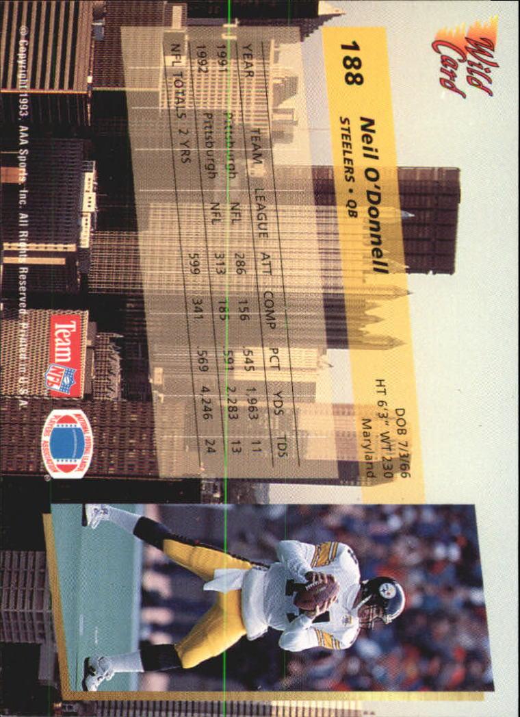 1993-Wild-Card-Superchrome-Football-Card-Pick-103-260 thumbnail 163
