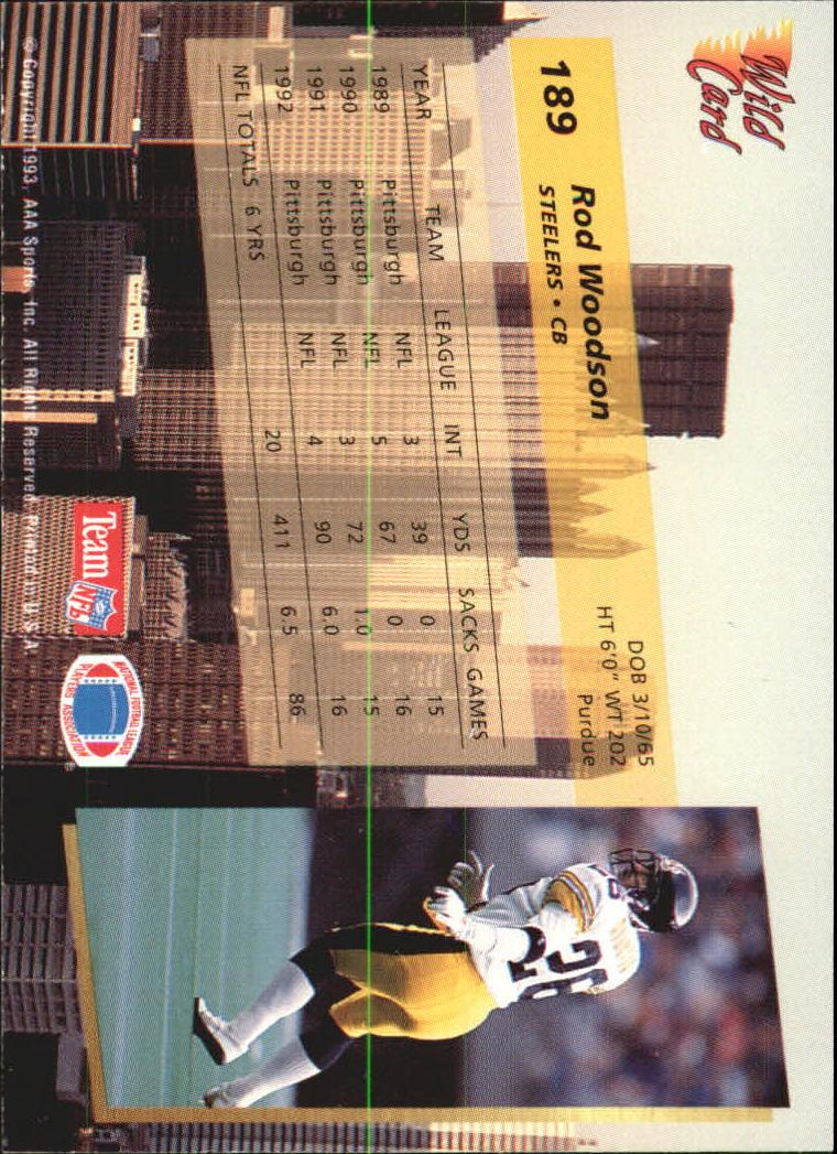 1993-Wild-Card-Superchrome-Football-Card-Pick-103-260 thumbnail 165