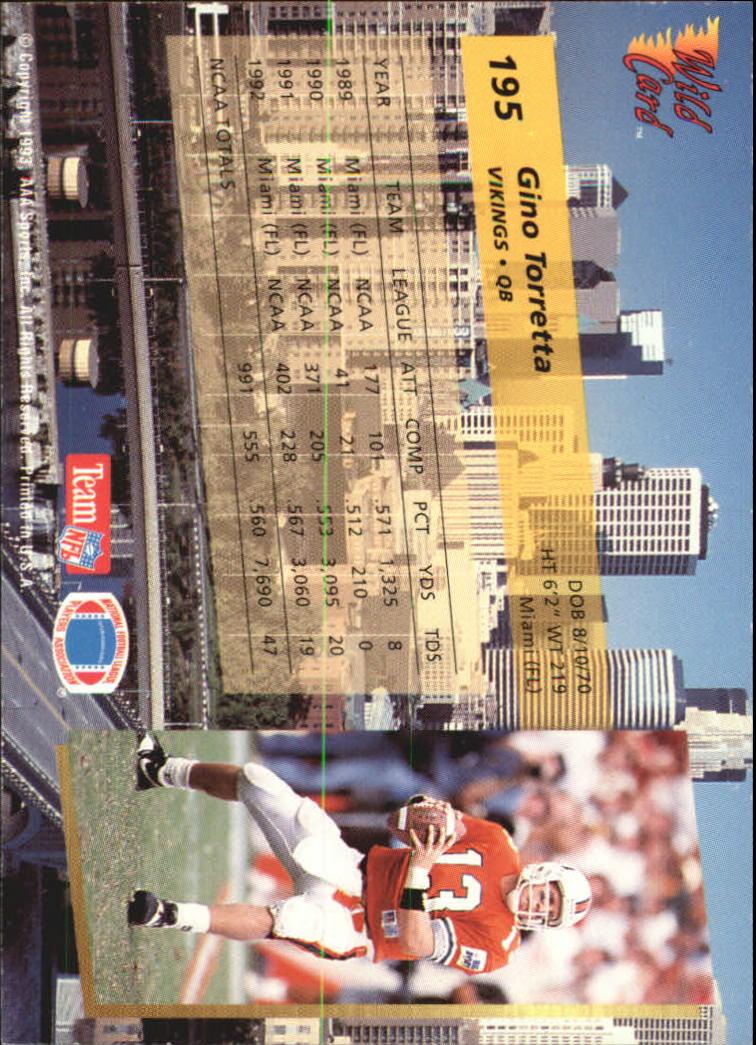 1993-Wild-Card-Superchrome-Football-Card-Pick-103-260 thumbnail 173