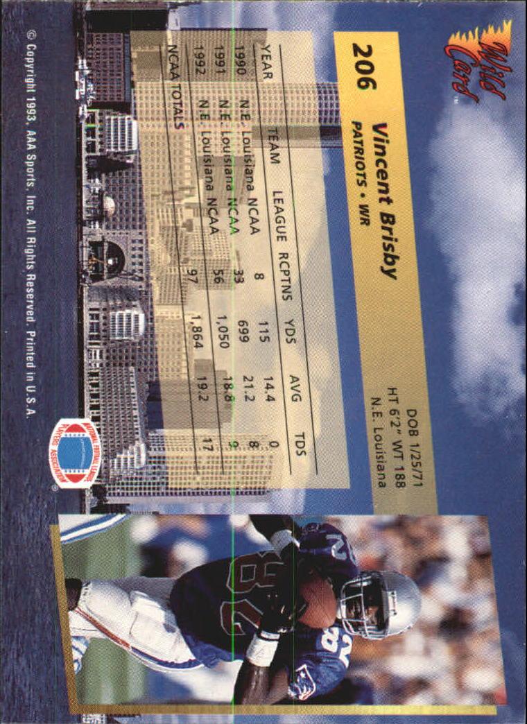 1993-Wild-Card-Superchrome-Football-Card-Pick-103-260 thumbnail 195