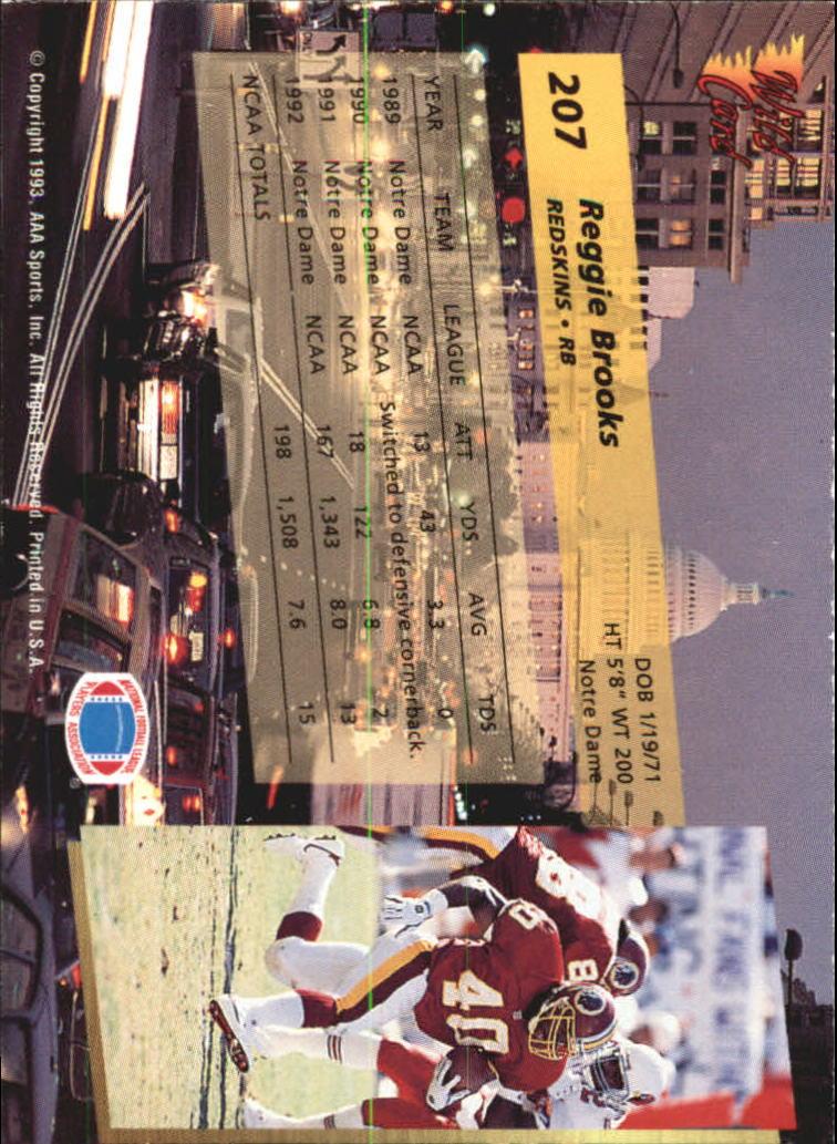 1993-Wild-Card-Superchrome-Football-Card-Pick-103-260 thumbnail 197