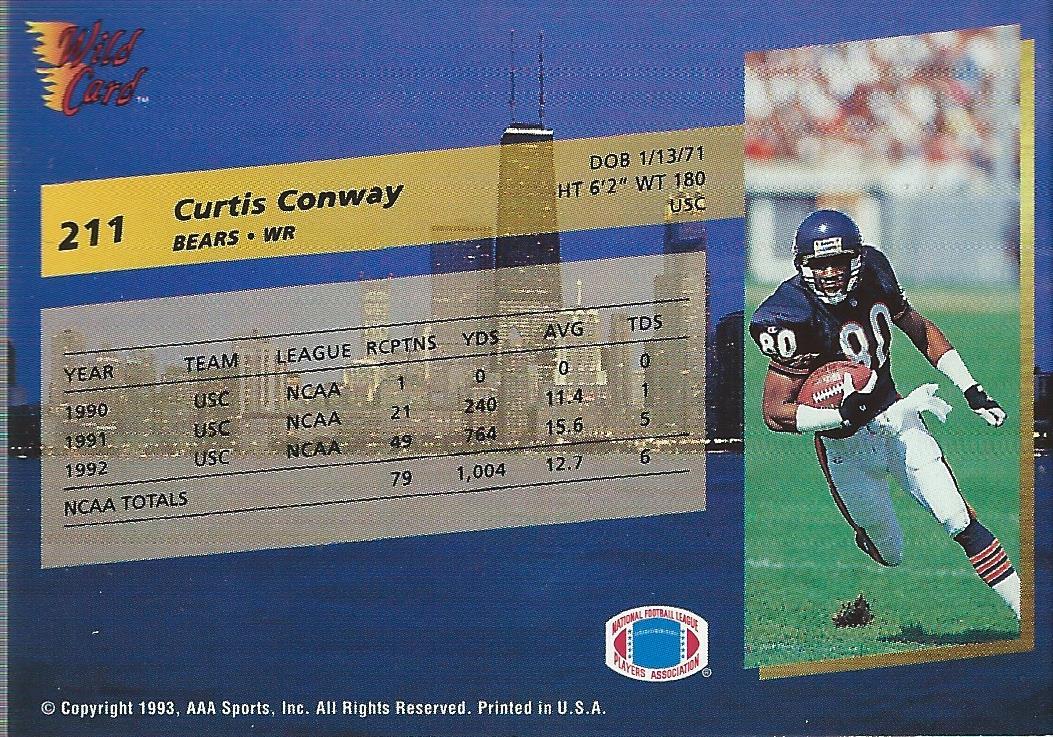 1993-Wild-Card-Superchrome-Football-Card-Pick-103-260 thumbnail 205