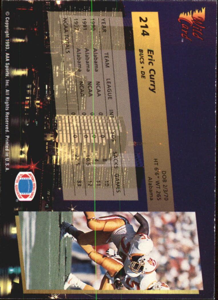 1993-Wild-Card-Superchrome-Football-Card-Pick-103-260 thumbnail 211