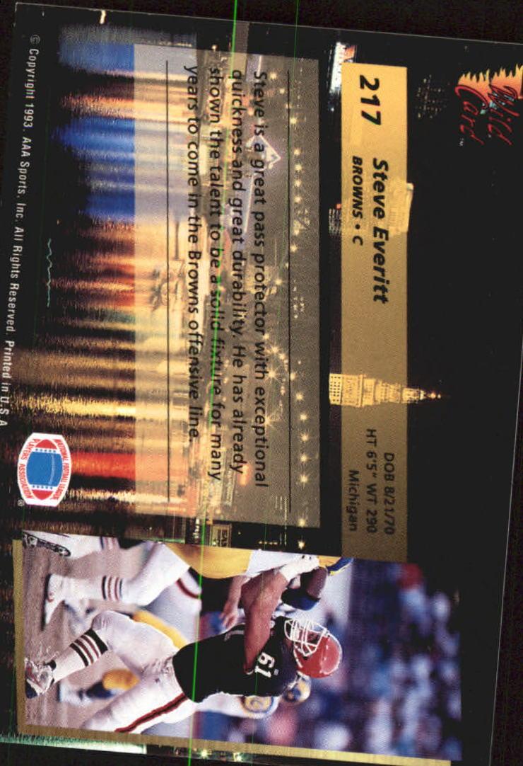1993-Wild-Card-Superchrome-Football-Card-Pick-103-260 thumbnail 217
