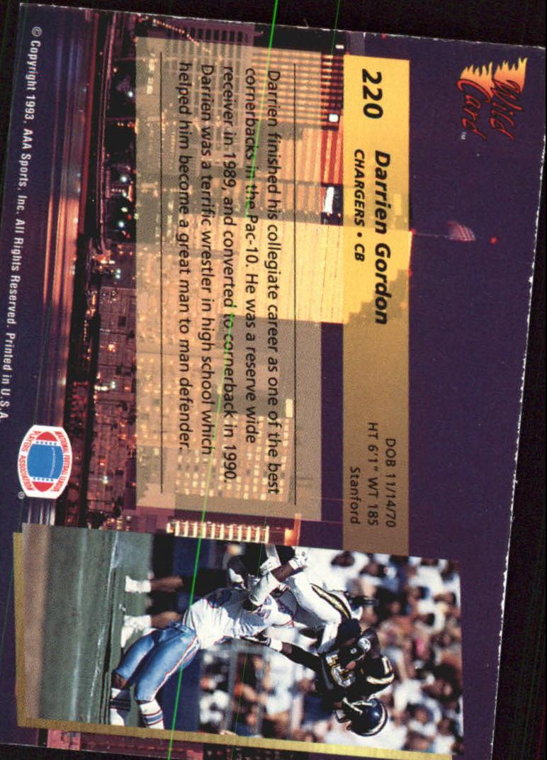 1993-Wild-Card-Superchrome-Football-Card-Pick-103-260 thumbnail 223