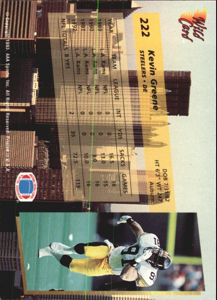 1993-Wild-Card-Superchrome-Football-Card-Pick-103-260 thumbnail 227