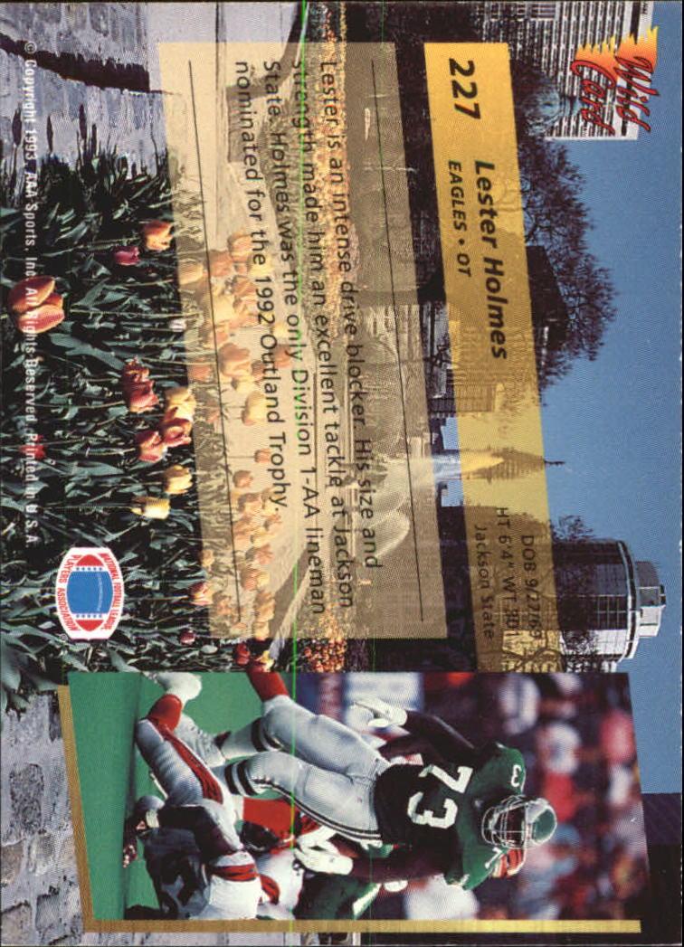 1993-Wild-Card-Superchrome-Football-Card-Pick-103-260 thumbnail 237
