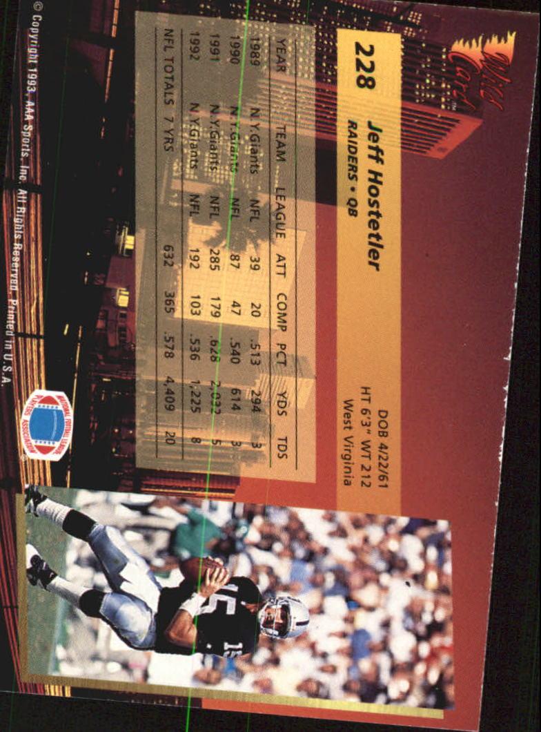 1993-Wild-Card-Superchrome-Football-Card-Pick-103-260 thumbnail 239