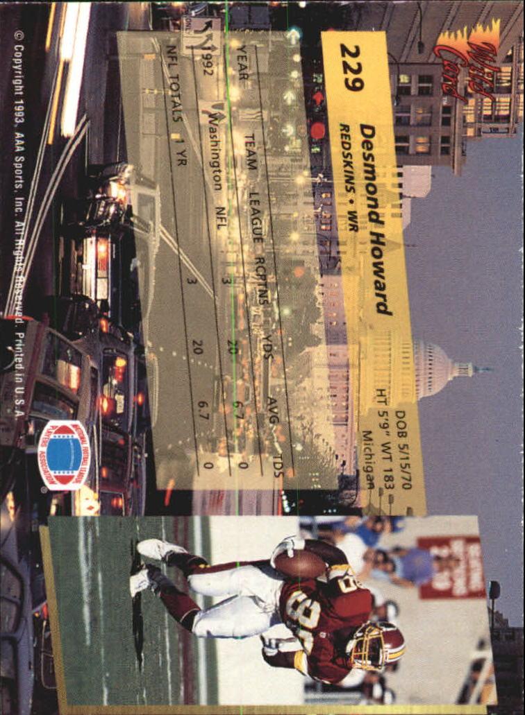 1993-Wild-Card-Superchrome-Football-Card-Pick-103-260 thumbnail 241