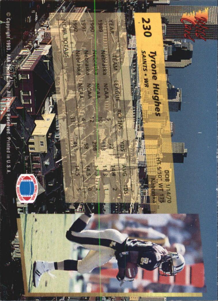 1993-Wild-Card-Superchrome-Football-Card-Pick-103-260 thumbnail 243