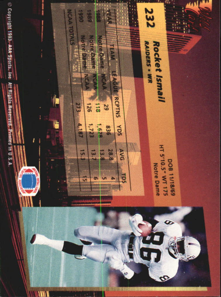 1993-Wild-Card-Superchrome-Football-Card-Pick-103-260 thumbnail 247