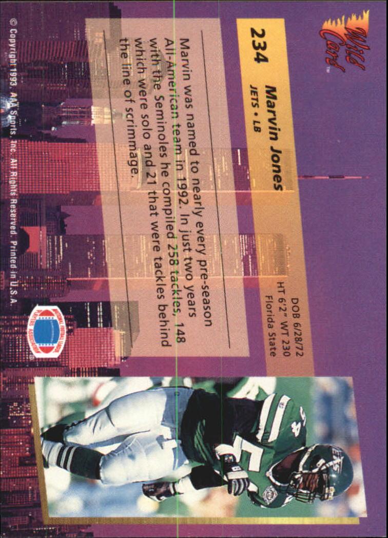 1993-Wild-Card-Superchrome-Football-Card-Pick-103-260 thumbnail 249