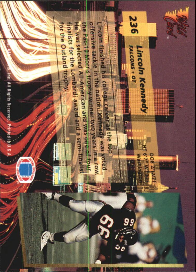 1993-Wild-Card-Superchrome-Football-Card-Pick-103-260 thumbnail 253