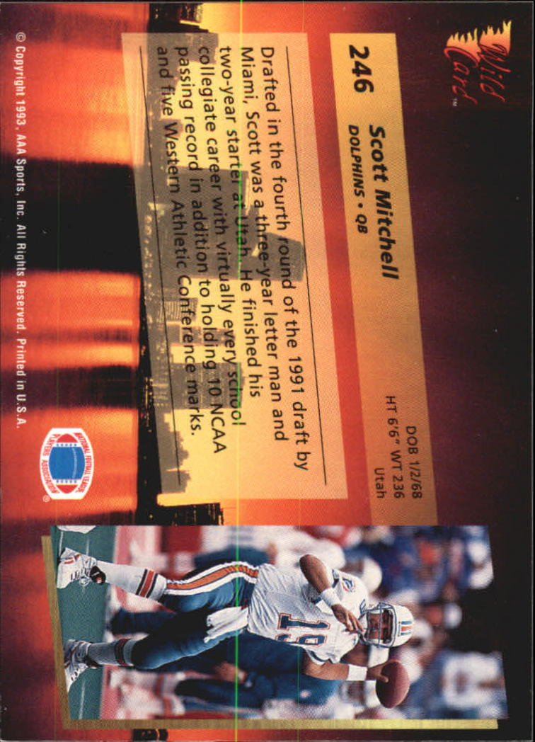 1993-Wild-Card-Superchrome-Football-Card-Pick-103-260 thumbnail 271