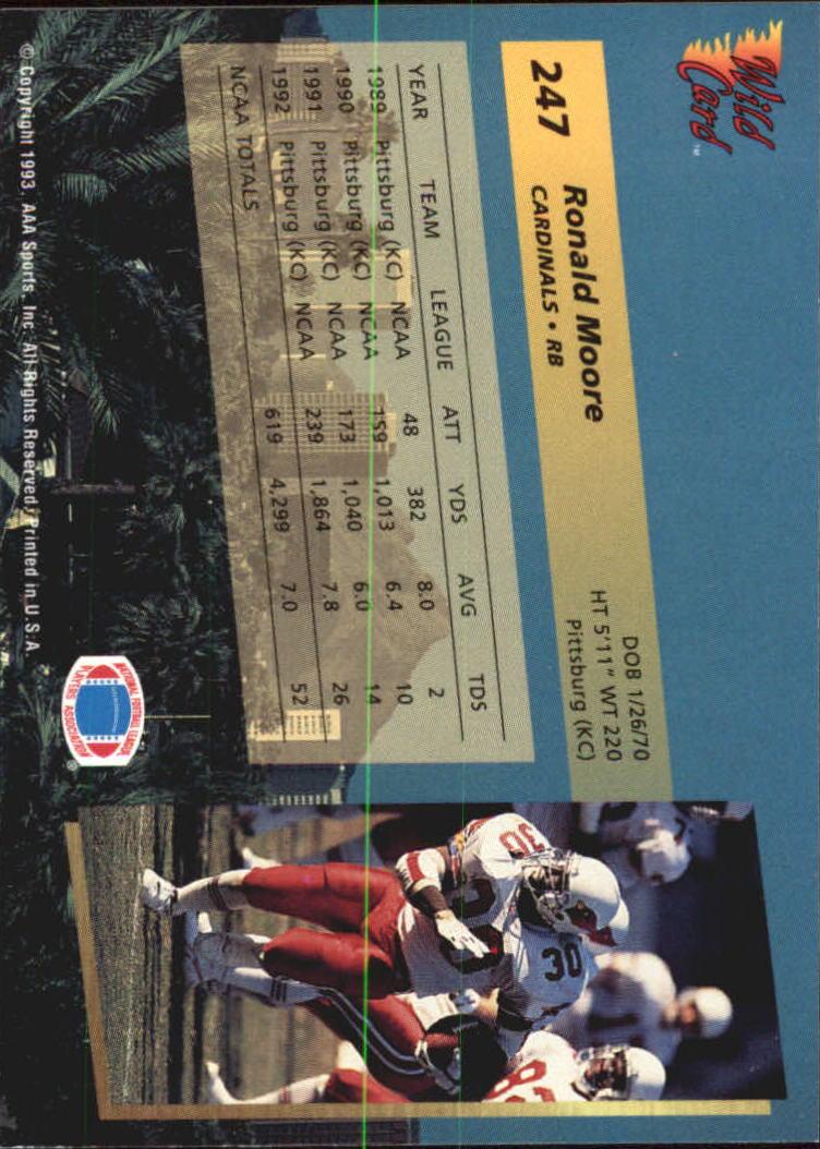 1993-Wild-Card-Superchrome-Football-Card-Pick-103-260 thumbnail 273
