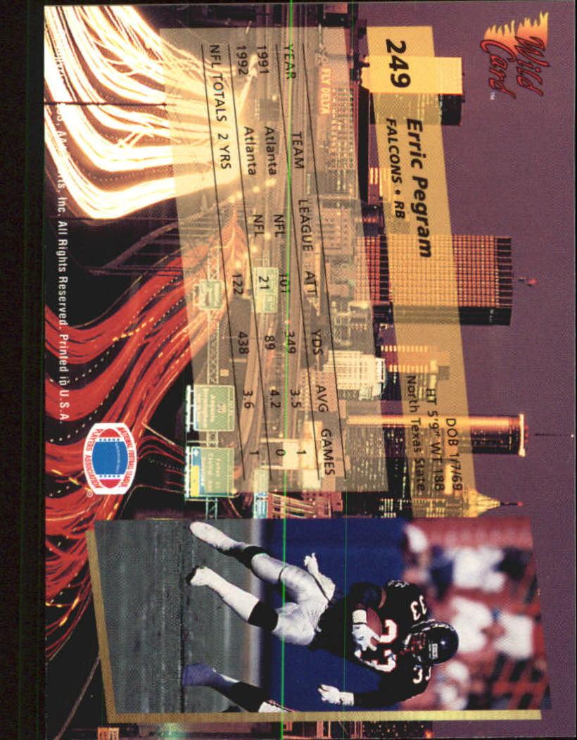 1993-Wild-Card-Superchrome-Football-Card-Pick-103-260 thumbnail 275