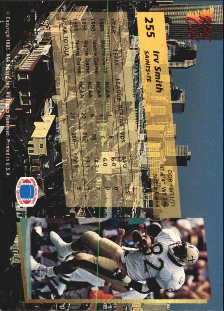 1993-Wild-Card-Superchrome-Football-Card-Pick-103-260 thumbnail 287