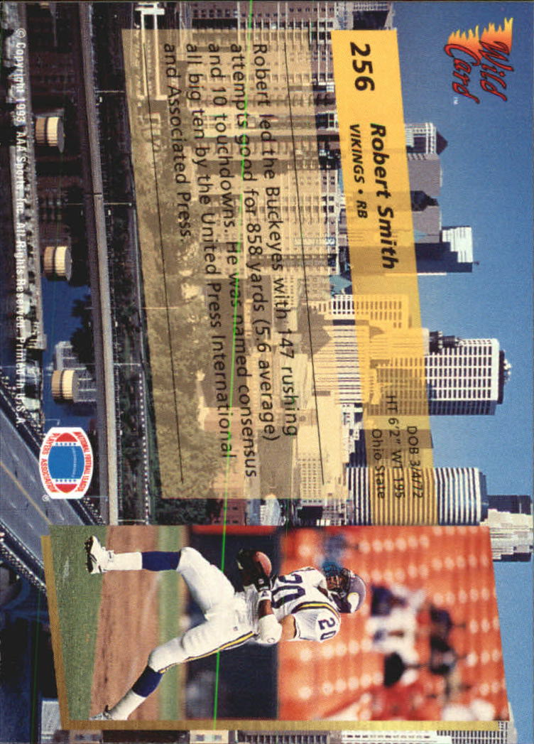 1993-Wild-Card-Superchrome-Football-Card-Pick-103-260 thumbnail 289