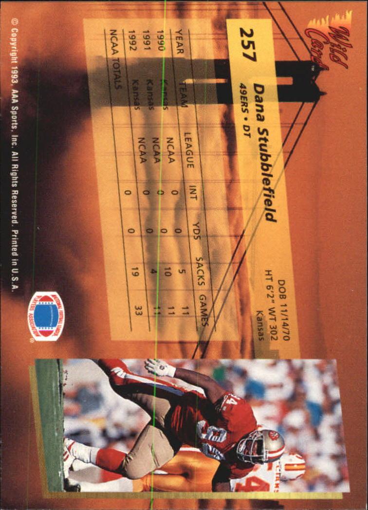 1993-Wild-Card-Superchrome-Football-Card-Pick-103-260 thumbnail 291