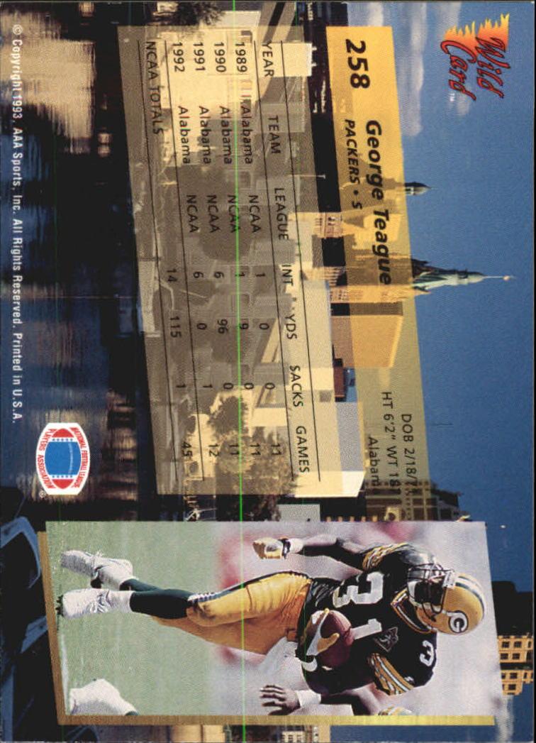 1993-Wild-Card-Superchrome-Football-Card-Pick-103-260 thumbnail 293