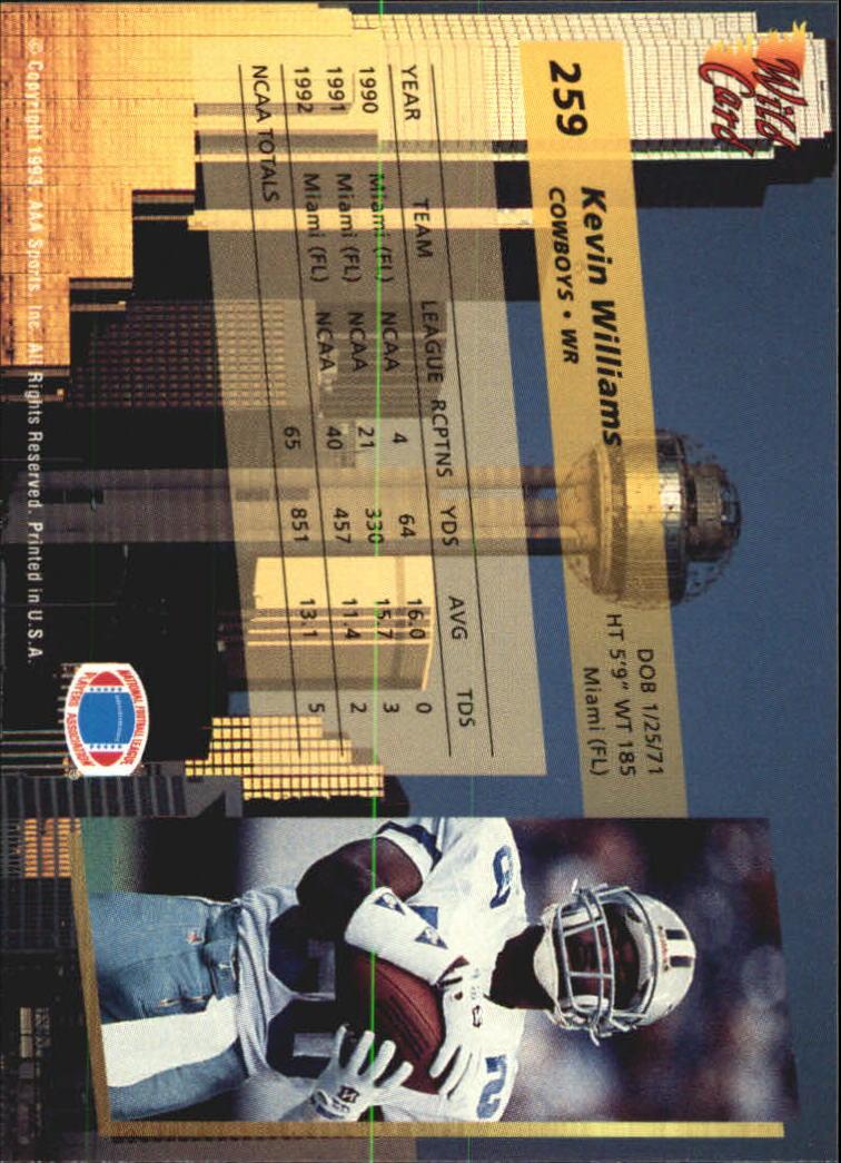 1993-Wild-Card-Superchrome-Football-Card-Pick-103-260 thumbnail 295