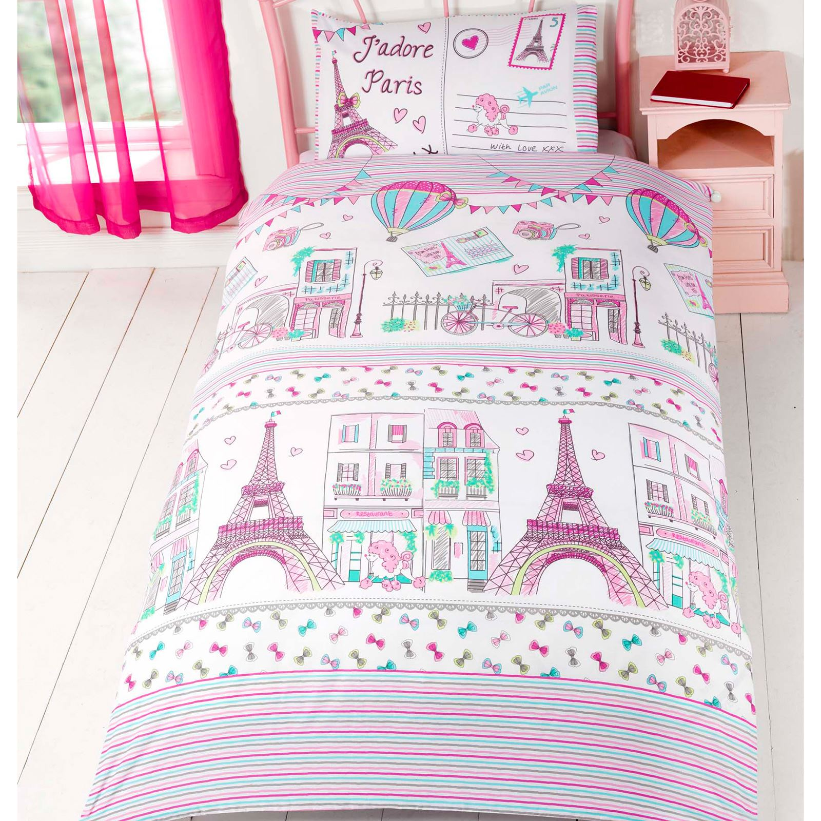 Character And Themed Single Duvet Cover Kids Bedding Sets