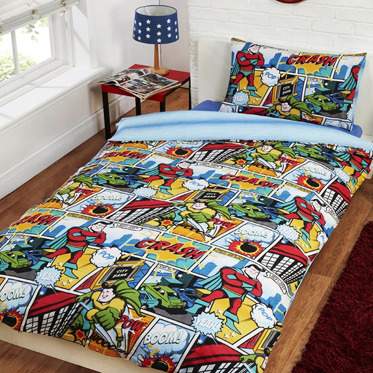 Design Comic Book Bedding character and themed single duvet cover kids bedding sets avengers bedding