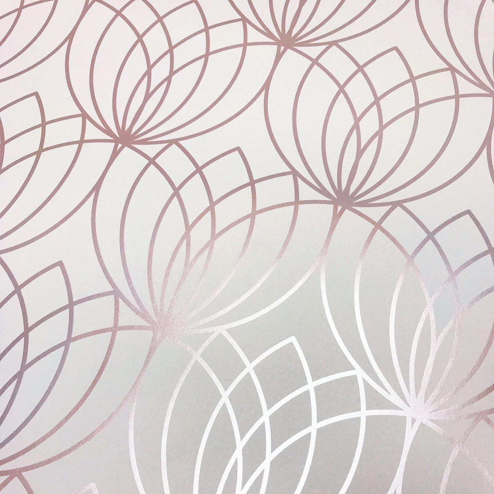 muriva rosa hell gold tapete lipsy pailletten metallik funkeln glizer ebay. Black Bedroom Furniture Sets. Home Design Ideas