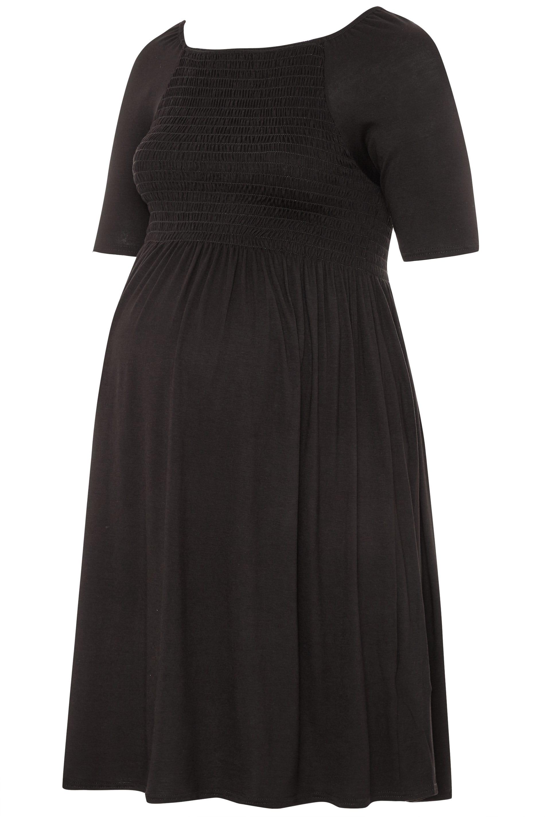Yours Clothing Mujer Talla Grande Bomba It Dar Cuerda Vestido Premama Ebay