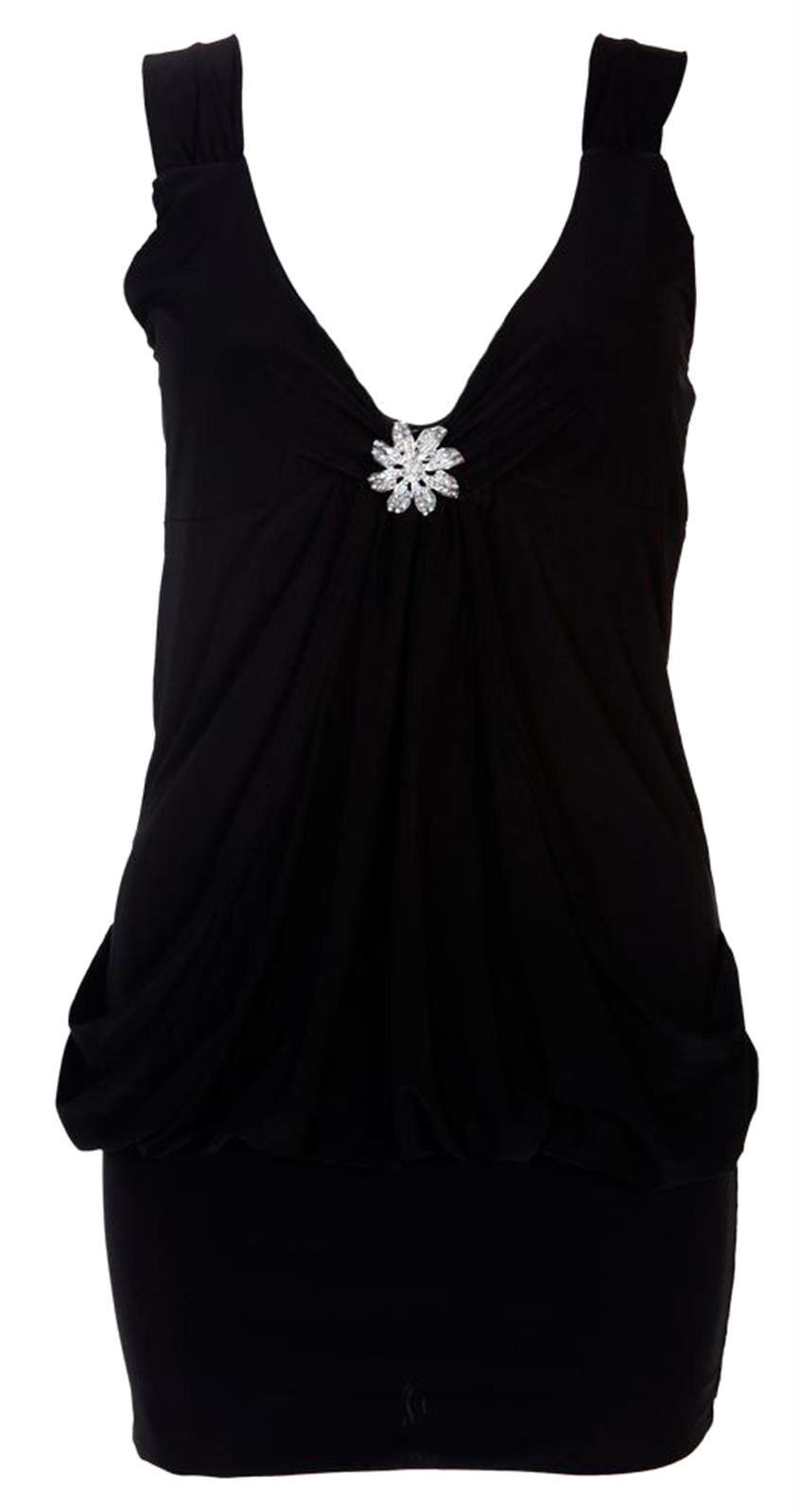 NEU Damen Übergröße Mini Ausgehen Partykleider Anschnitt Kleid 8-22 ...