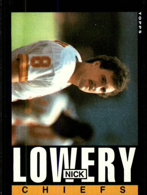 1985-Topps-Futbol-Tarjeta-Recoger-274-396 miniatura 8