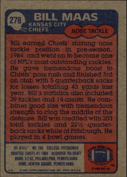 1985-Topps-Futbol-Tarjeta-Recoger-274-396 miniatura 11