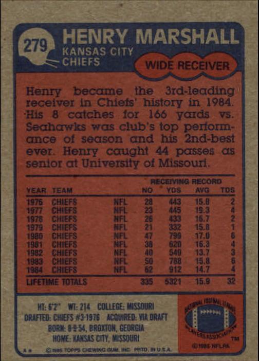 1985-Topps-Futbol-Tarjeta-Recoger-274-396 miniatura 13