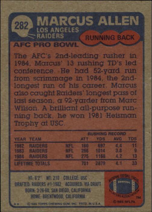 1985-Topps-Football-Card-Pick-274-396 thumbnail 17